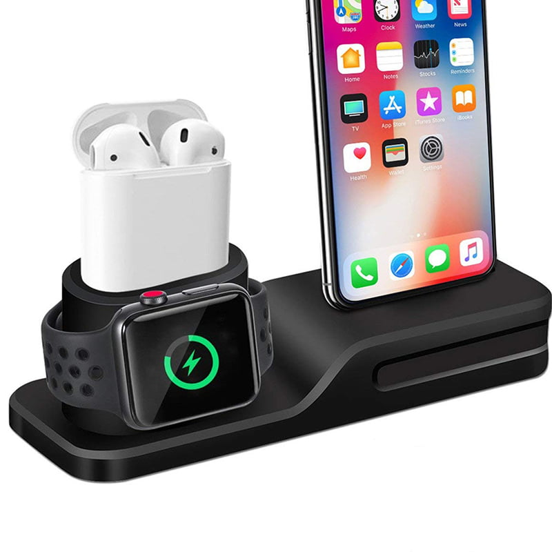 3 In 1 Charging Dock For IPhone, Apple Watch And Airpods